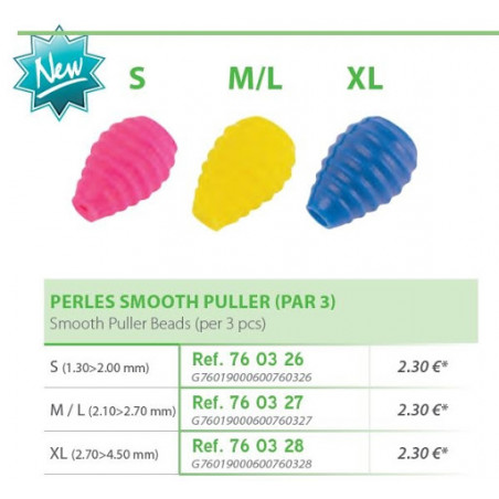 BLISTER 3 PERLES SMOOTH PULLER